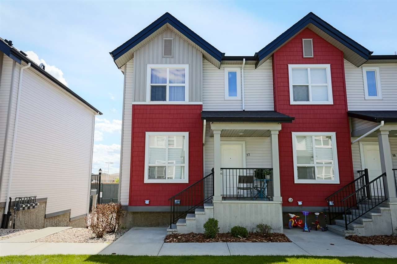 Main Photo: 17 6075 Schonsee Way in Edmonton: Zone 28 Townhouse for sale : MLS®# E4234257