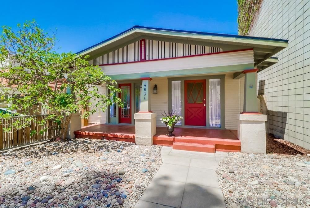 Main Photo: UNIVERSITY HEIGHTS House for sale : 2 bedrooms : 4634 30th St. in San Diego
