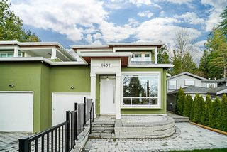 Photo 1: 6437 MARINE Drive in Burnaby: Big Bend 1/2 Duplex for sale (Burnaby South)  : MLS®# R2374846