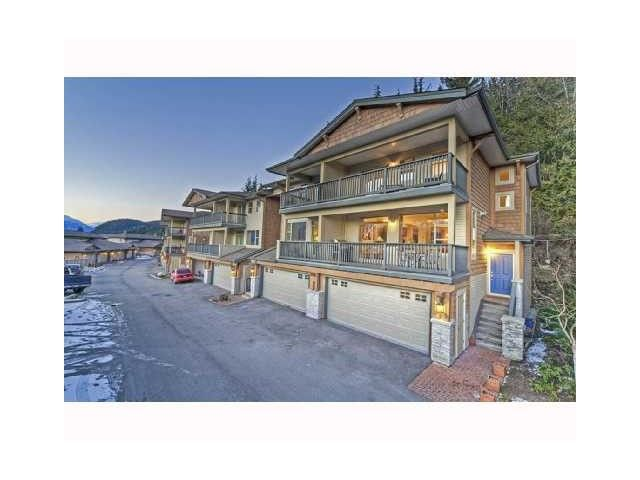 "Main Photo: 18 1026 GLACIER VIEW Drive in Squamish: Garibaldi Highlands Townhouse for sale in ""SEASONVIEW"" : MLS®# V1011095"