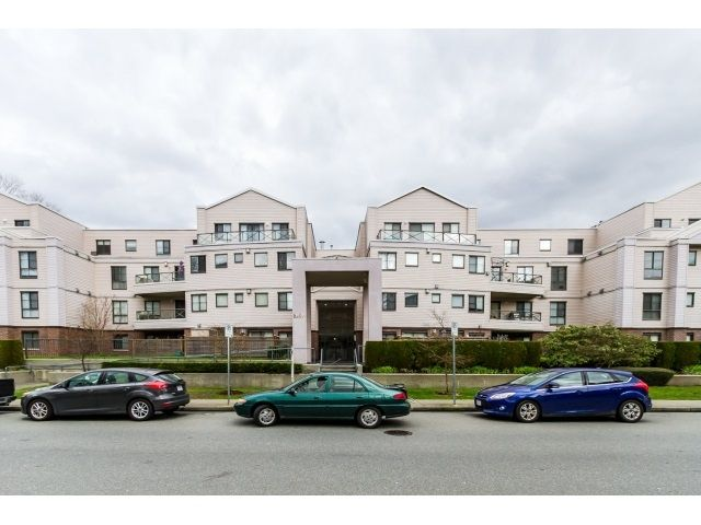 """Main Photo: 212 2357 WHYTE Avenue in Port Coquitlam: Central Pt Coquitlam Condo for sale in """"RIVERSIDE PLACE"""" : MLS®# R2043083"""