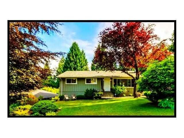 """Main Photo: 1361 E 15TH Street in North Vancouver: Westlynn House for sale in """"WESTLYNN"""" : MLS®# V1129244"""