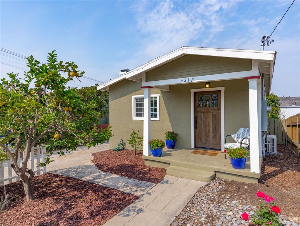 Main Photo: NORTH PARK House for sale : 3 bedrooms : 4212 Hamilton in San Diego