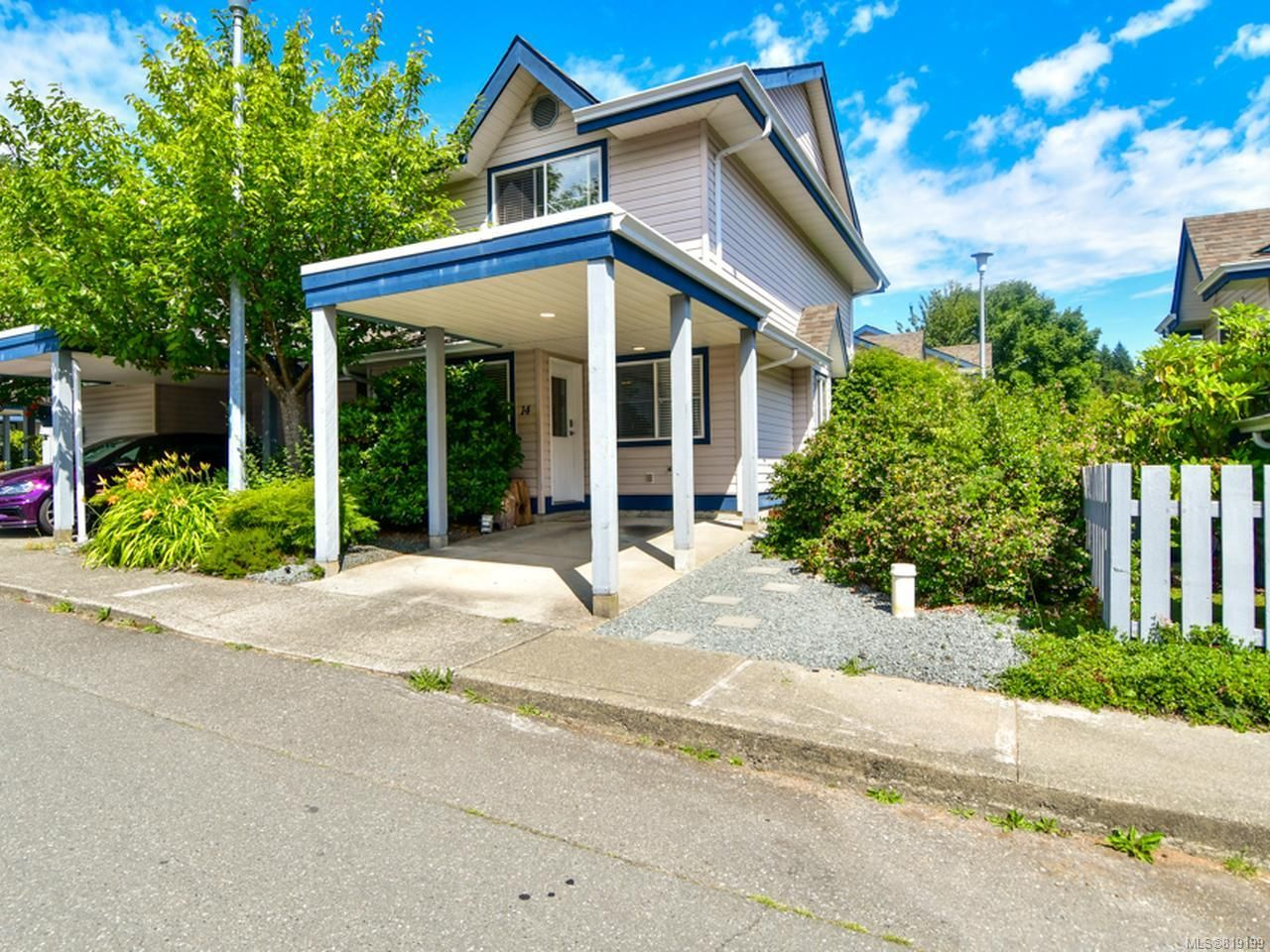 Main Photo: 14 1335 Creekside Way in CAMPBELL RIVER: CR Willow Point Row/Townhouse for sale (Campbell River)  : MLS®# 819199