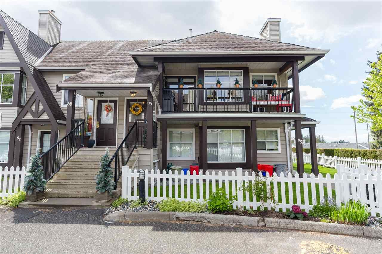 """Main Photo: 66 12099 237 Street in Maple Ridge: East Central Townhouse for sale in """"Gabriola"""" : MLS®# R2363906"""