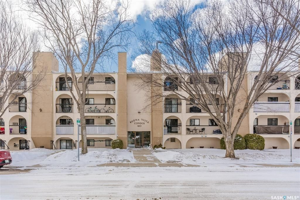 Main Photo: 405 610 Hilliard Street West in Saskatoon: Exhibition Residential for sale : MLS®# SK848601