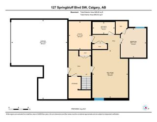 Photo 46: 127 Springbluff Boulevard SW in Calgary: Springbank Hill Detached for sale : MLS®# A1140601