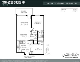 Photo 17: 310 2220 Sooke Rd in Colwood: Co Hatley Park Condo for sale : MLS®# 844747