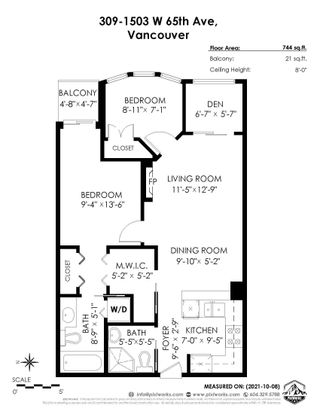 """Photo 27: 309 1503 W 65TH Avenue in Vancouver: S.W. Marine Condo for sale in """"The SOHO"""" (Vancouver West)  : MLS®# R2625872"""