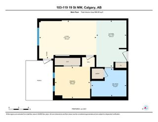 Photo 25: 103 119 19 Street NW in Calgary: West Hillhurst Apartment for sale : MLS®# A1116519