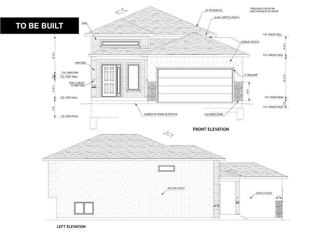 Main Photo: 63 Aberdeen Drive in Niverville: Fifth Avenue Estates Residential for sale (R07)  : MLS®# 202122360