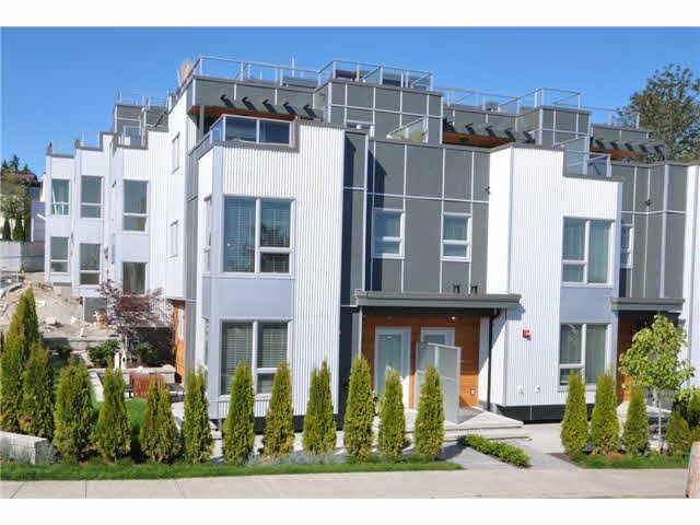 Main Photo: 2227 SOUTHSIDE DRIVE in : South Marine Townhouse for sale (Vancouver East)  : MLS®# V1016274