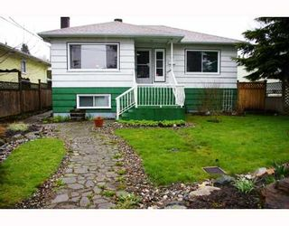 Photo 1: 509 WILSON Street in New_Westminster: Sapperton House for sale (New Westminster)  : MLS®# V759836