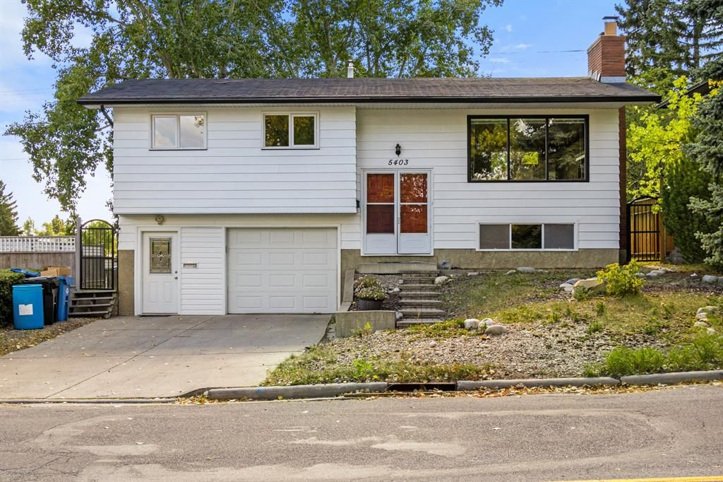 Main Photo: 5403 Dalhart Road NW in Calgary: Dalhousie Detached for sale : MLS®# A1144585