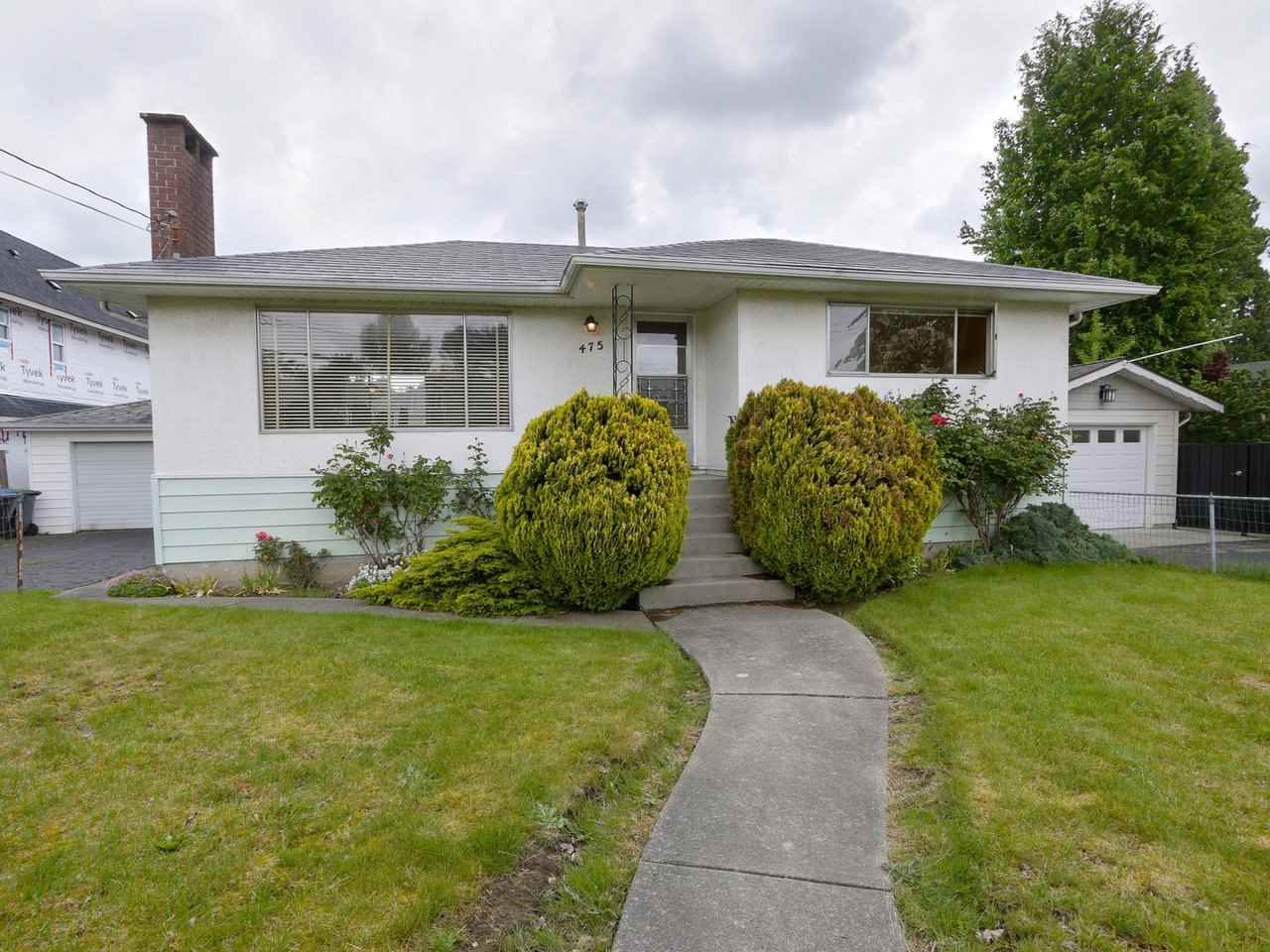 """Main Photo: 475 CUMBERLAND Street in New Westminster: The Heights NW House for sale in """"The Heights"""" : MLS®# R2455900"""