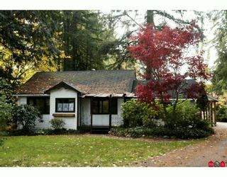 Photo 1: 23084 96TH Avenue in Langley: Fort Langley House for sale : MLS®# F2924885