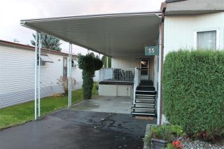 """Photo 3: 55 2120 KING GEORGE Boulevard in Surrey: King George Corridor Manufactured Home for sale in """"Five Oaks"""" (South Surrey White Rock)  : MLS®# R2015484"""