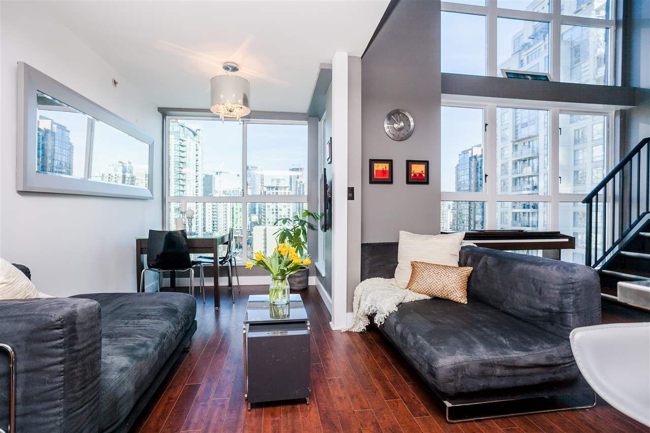 """Main Photo: 807 1238 SEYMOUR Street in Vancouver: Downtown VW Condo for sale in """"SPACE"""" (Vancouver West)  : MLS®# R2033059"""