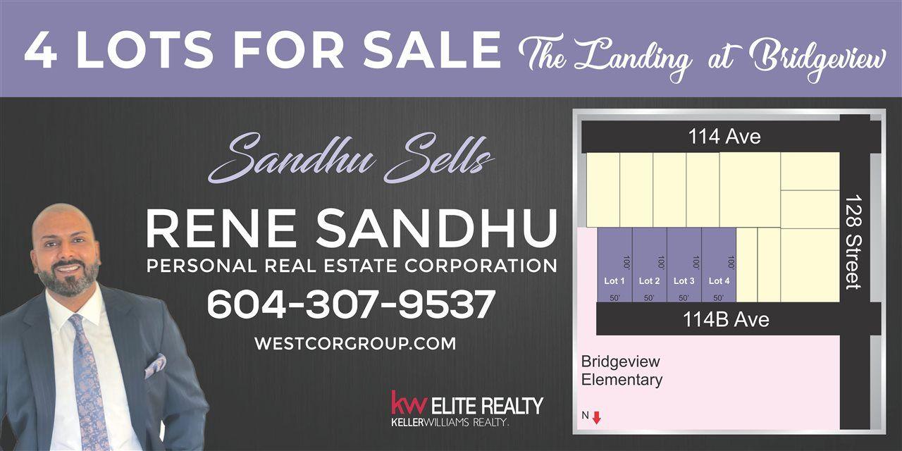 Main Photo: 12834 114B Avenue in Surrey: Bridgeview Land for sale (North Surrey)  : MLS®# R2618950