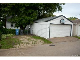 Photo 20: 91 Des Meurons Street in WINNIPEG: St Boniface Residential for sale (South East Winnipeg)  : MLS®# 1422081