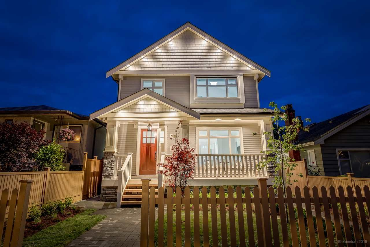 Main Photo: 1308 E 27 Avenue in Vancouver: Knight 1/2 Duplex for sale (Vancouver East)  : MLS®# R2088304