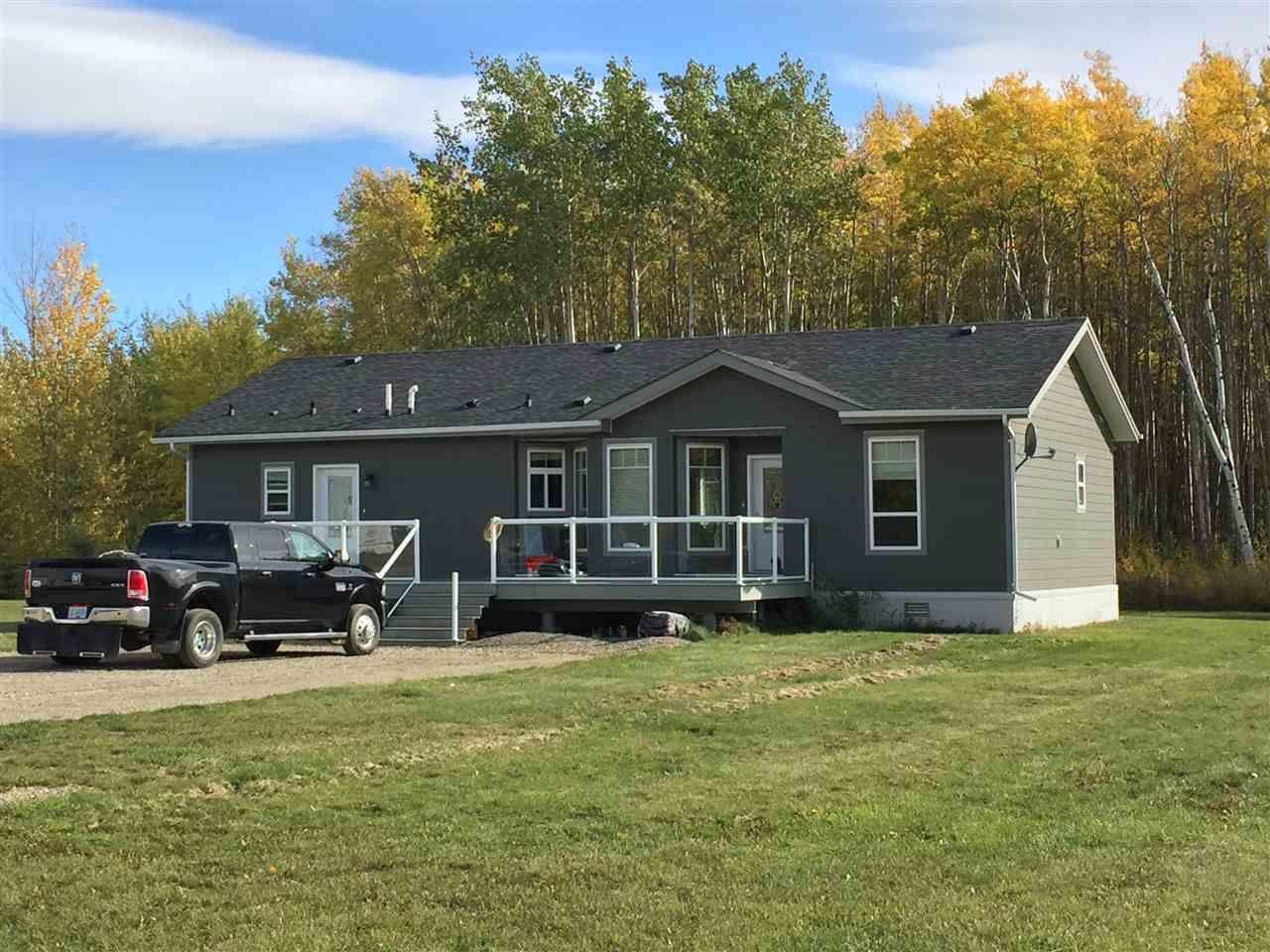Main Photo: 9808 MAPLE Street in FT ST JOHN: Fort St. John - Rural W 100th Manufactured Home for sale (Fort St. John (Zone 60))  : MLS®# R2002304