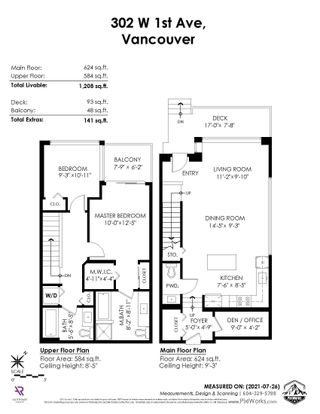 """Photo 36: 302 W 1ST Avenue in Vancouver: False Creek Townhouse for sale in """"FOUNDRY"""" (Vancouver West)  : MLS®# R2625350"""