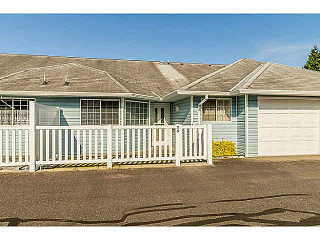 Main Photo: 25 1450 MCCALLUM ROAD in : Poplar Townhouse for sale : MLS®# F1439043