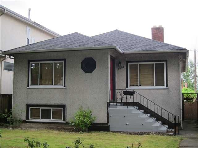 Main Photo: 1349 E 24TH Avenue in Vancouver: Knight House for sale (Vancouver East)  : MLS®# V1078708