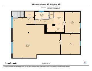 Photo 31: 4 Fawn Crescent SE in Calgary: Fairview Detached for sale : MLS®# A1066192