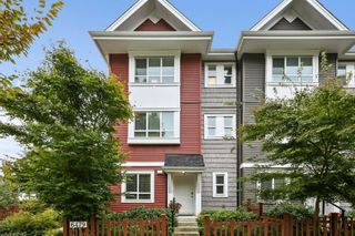 """Main Photo: 1 6479 192 Street in Surrey: Clayton Townhouse for sale in """"Brookside Walk"""" (Cloverdale)  : MLS®# R2626606"""