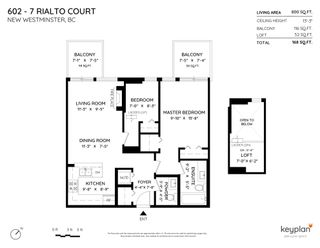 """Photo 2: 602 7 RIALTO Court in New Westminster: Quay Condo for sale in """"Murano Lofts"""" : MLS®# R2595994"""