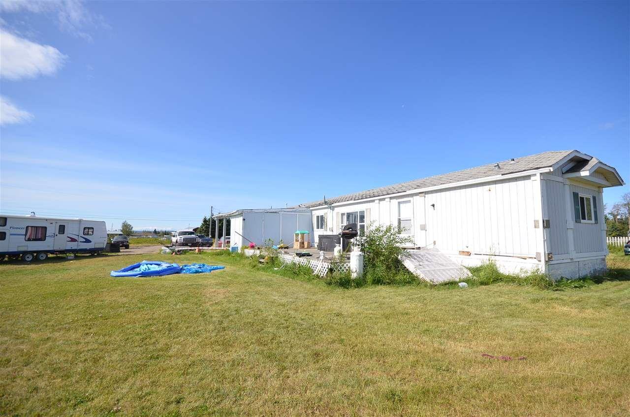 Main Photo: 6342 DAISY Avenue in Fort St. John: Fort St. John - Rural E 100th Manufactured Home for sale (Fort St. John (Zone 60))  : MLS®# R2508722