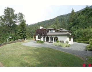 """Photo 1: 6921 MARBLE HILL Road in Chilliwack: Eastern Hillsides House for sale in """"S"""" : MLS®# H2902233"""