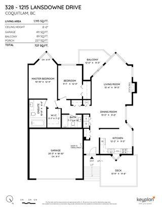 "Photo 23: 328 1215 LANSDOWNE Drive in Coquitlam: Upper Eagle Ridge Townhouse for sale in ""SUNRIDGE ESTATES"" : MLS®# R2604074"