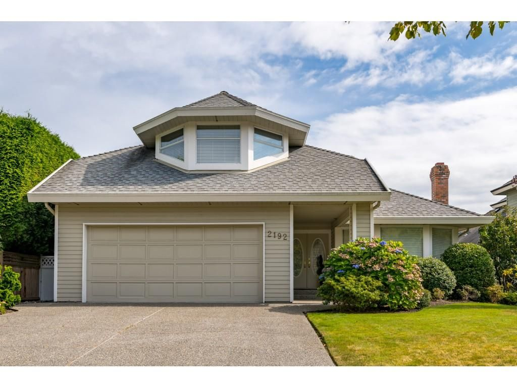 Main Photo: 2192 148A STREET in Surrey: Sunnyside Park Surrey House for sale (South Surrey White Rock)  : MLS®# R2500785