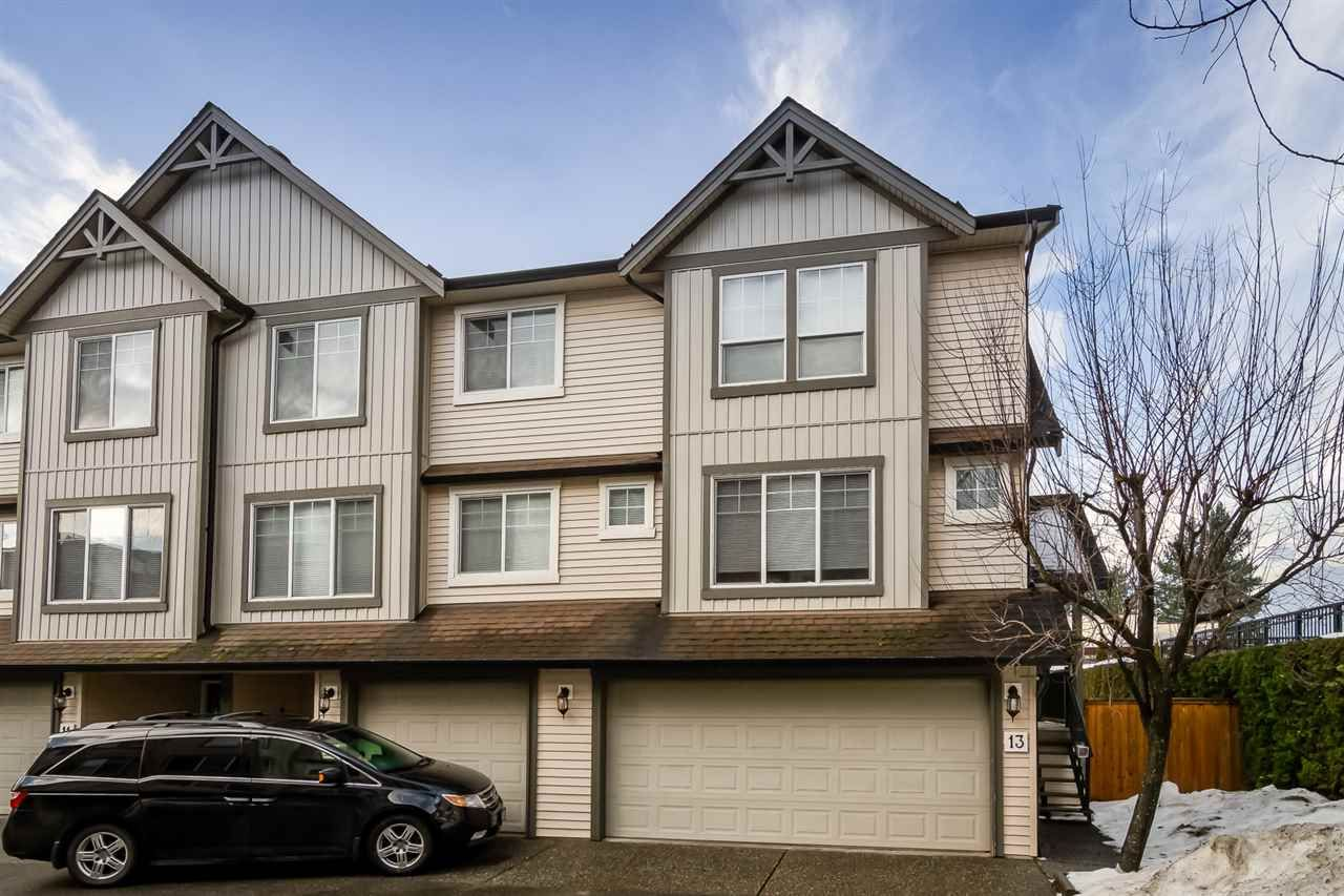 "Main Photo: 13 8917 EDWARD Street in Chilliwack: Chilliwack W Young-Well Townhouse for sale in ""THE GABLES DOWNTOWN"" : MLS®# R2431321"