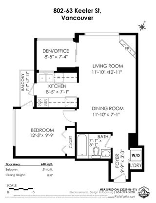 Photo 36: 802 63 KEEFER PLACE in Vancouver: Downtown VW Condo for sale (Vancouver West)  : MLS®# R2593495