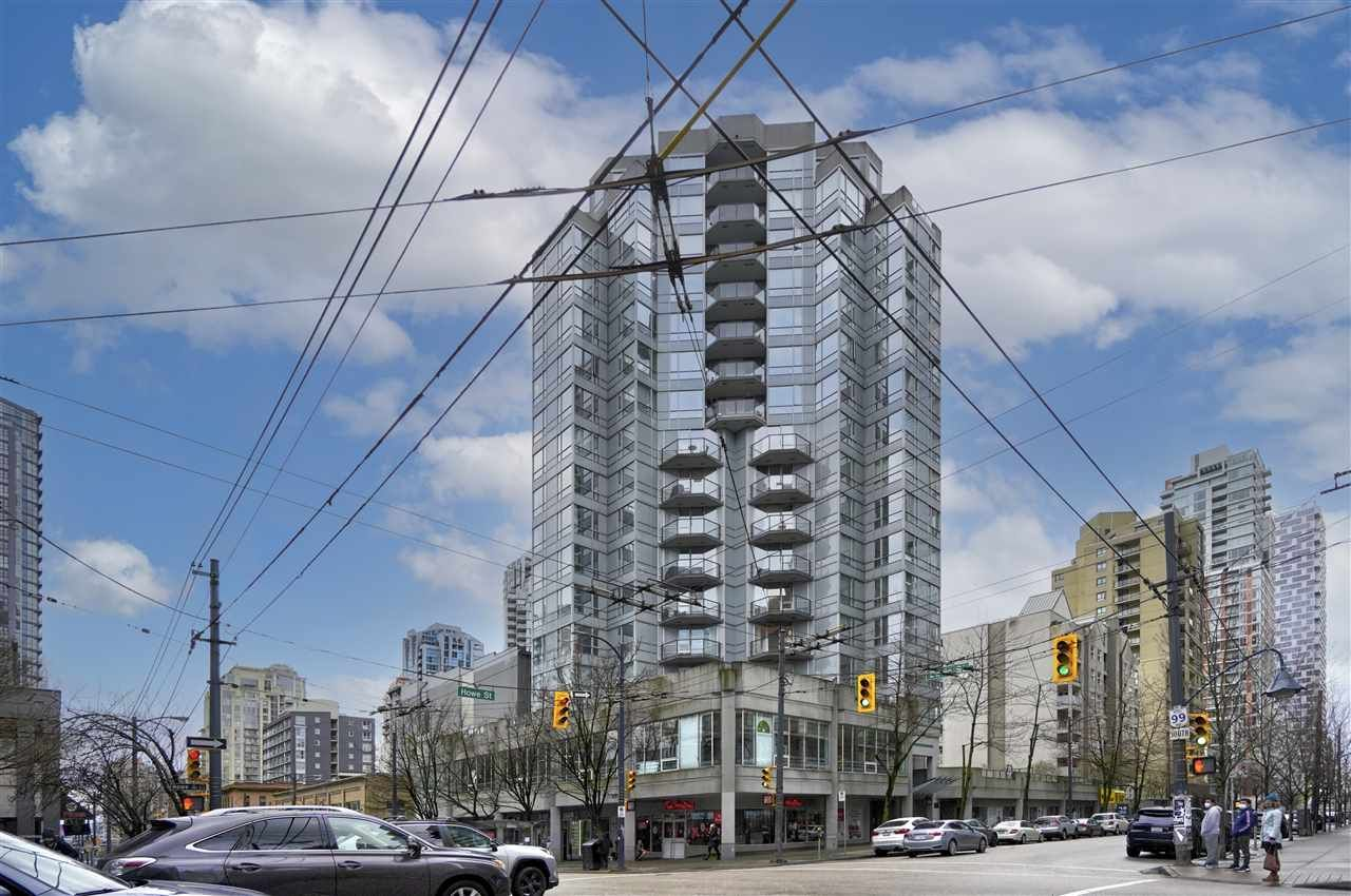 Main Photo: 1402 1212 HOWE STREET in Vancouver: Downtown VW Condo for sale (Vancouver West)  : MLS®# R2549501