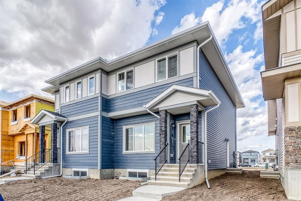 Main Photo: 48 Cornerbrook View NE in Calgary: Cornerstone Semi Detached for sale : MLS®# A1150662