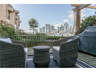 Photo 1: 101 1859 SPYGLASS Place in Vancouver: False Creek Condo for sale (Vancouver West)  : MLS®# V1054077