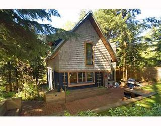 Photo 2: 1225 ADAMS Road: Bowen Island Home for sale ()  : MLS®# V645285