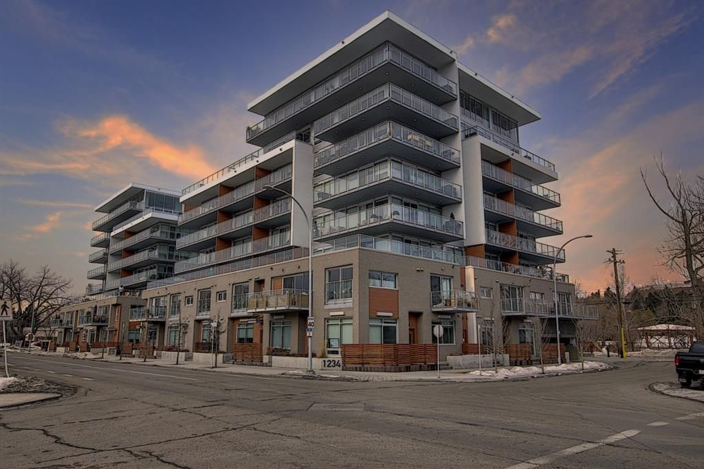 Main Photo: 1104 1234 5 Avenue NW in Calgary: Hillhurst Apartment for sale : MLS®# A1075279