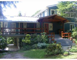 "Photo 1: 1459 GOWER POINT Road in Gibsons: Gibsons & Area House for sale in ""Gower Point"" (Sunshine Coast)  : MLS®# V770276"