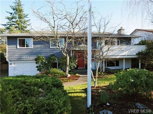 Main Photo: 4021 Hessington Pl in VICTORIA: SE Arbutus House for sale (Saanich East)  : MLS®# 693379