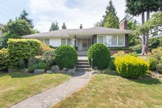 """Photo 1: 2037 ALLISON Road in Vancouver: University VW House for sale in """"UEL SOUTH"""" (Vancouver West)  : MLS®# R2100165"""