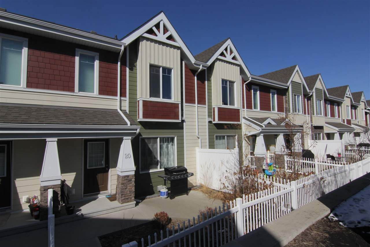 Main Photo: 20 2003 RABBIT HILL Road NW in Edmonton: Zone 14 Townhouse for sale : MLS®# E4238123