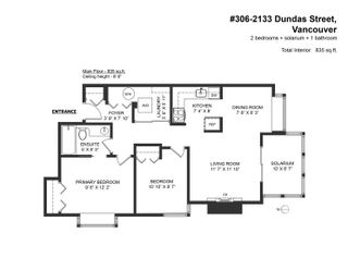 """Photo 19: 306 2133 DUNDAS Street in Vancouver: Hastings Condo for sale in """"Harbour Gate"""" (Vancouver East)  : MLS®# R2614513"""