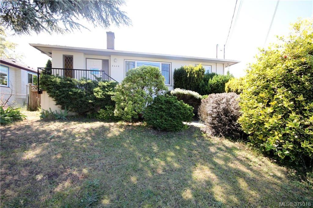 Main Photo: 2432 Richmond Rd in VICTORIA: Vi Jubilee Half Duplex for sale (Victoria)  : MLS®# 761847