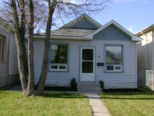 Main Photo: 356 KENSINGTON Street in WINNIPEG: St James Residential for sale (West Winnipeg)  : MLS®# 1021814